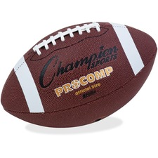 CSI CF100 Champion Sports Pro Comp Official Size Football CSICF100