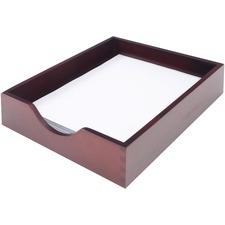 CVR CW07213 Carver Wood Mahogany Desk Tray CVRCW07213