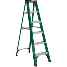 DAD FS4006 Louisville Ladders Fiberglass Standard Step Ladder DADFS4006