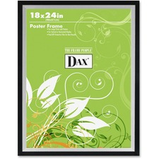 DAX 3404W1T Burns Grp. Metro 2-tone Wide Poster Frame DAX3404W1T