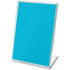 DEF 20004 Deflecto Mini Tabletop Sign Holder DEF20004