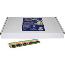 DIX 28144 Dixon Prang Groove Colored Pencils DIX28144