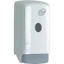 DIA 03226 Dial Corp. 800ml Liquid Soap Push Dispenser DIA03226