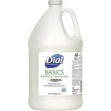 DIA 06047 Dial Corp. Basics Liquid Hand Soap Refill DIA06047