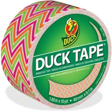 DUC 280978 Duck Brand Zig Zag Color Duct Tape DUC280978