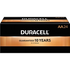 DUR 01501 Duracell AA CopperTop Batteries DUR01501