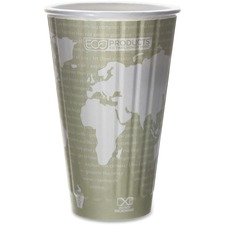 ECO EPBNHC16WD Eco-Products World Art Insulated Hot Cups ECOEPBNHC16WD