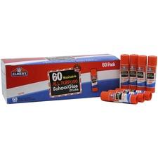 EPI E501 Elmer's Washable All Purp School Glue Sticks Pack EPIE501