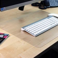 FLR DE2036RA Floortex Anti-slip Polycarbonate Desk Pad FLRDE2036RA