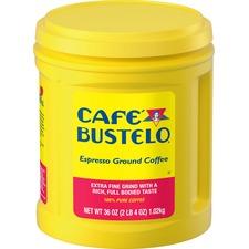 FOL 00055 Folgers Cafe Bustelo Espresso Ground Coffee FOL00055