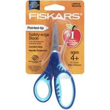 """FSK 1942301001 Fiskars Softgrip Pointed-tip 5"""" Kids Scissors FSK1942301001"""