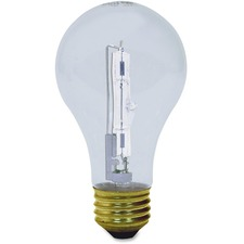 GEL 78798 GE Lighting 72W Crystal Clear A19 Halogen Bulb GEL78798
