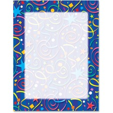 GEO 46901S Geographics Star Confetti Design Laser/IJ Paper GEO46901S