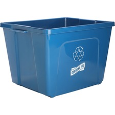 GJO 11582 Genuine Joe 14-Gallon Recycling Bin GJO11582