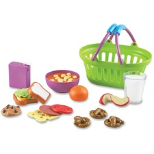LRN LER9731 Learning Res. New Sprouts Play Lunch Basket LRNLER9731