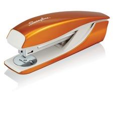 "Swingline NeXXt Series WOW Desktop Stapler - 40 Sheets Capacity - Full Strip - 5/16"" Staple Size - Orange"