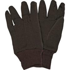 MCS CRW7100D MCR Safety General Purpose Brown Jersey Gloves MCSCRW7100D