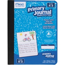 MEA 09554 Mead Gr K-2 Classroom Primary Journal Story Tablet MEA09554