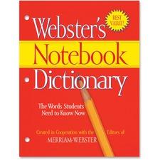 MER FSP0566 Merriam-Webster's Notebook Dictionary MERFSP0566