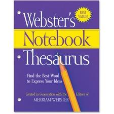 MER FSP0573 Merriam-Webster's Notebook Thesaurus MERFSP0573