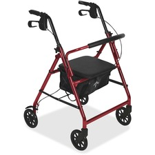 MII MDS86850ES Medline Basic Steel Rollators MIIMDS86850ES