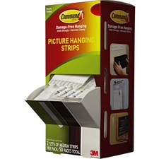 MMM 17201CABPK 3M Command Adhesive Medium Picture Hanging Strips MMM17201CABPK