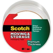 MMM 363154 3M Premium Thickness Moving/Storage Packaging Tape MMM363154