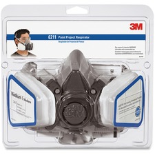 3M Half Facepiece Paint Spray/Pesticide Respirator