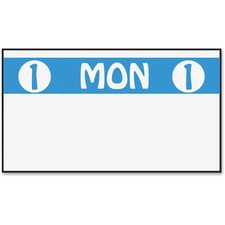MNK 925204A Monarch Freezer-proof Days of the Week Labels MNK925204A