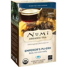 NUM 10350 NUMI Emperor's Pu-Erh Organic Tea NUM10350