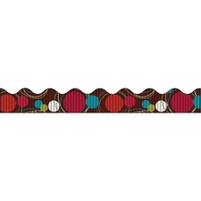 PAC 37740 Pacon Dots Bordette Decorative Border PAC37740