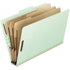 PFX 17174 Pendaflex 8-part Pressboard Classification Folders PFX17174