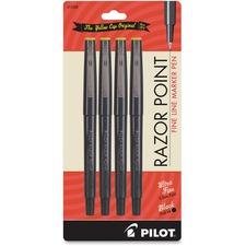 PIL 11044 Pilot Razor Point Fine Line Marker Pens PIL11044
