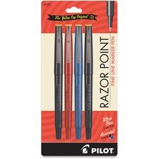 PIL 11045 Pilot Razor Point Fine Line Marker Pens PIL11045
