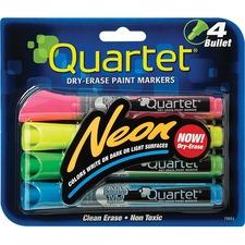 QRT 79551 Quartet Neon Dry-Erase Markers QRT79551