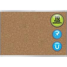 QRT MC244AP2 Quartet Aluminum Prestige 2 Magnetic Cork Board QRTMC244AP2