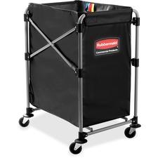 RCP1881749 - Rubbermaid Commercial 4-Bushel Collapsible X-Cart