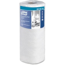 Tork Perforated Roll Paper Towels - Towel - 30 / Carton - White