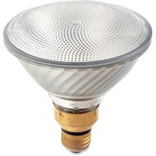 Satco 80-watt Halogen PAR38 Xenon Flood Bulb - 80 W - 120 V AC - 2560 cd - PAR38 Size - Clear - White Light Color - E26SK Base - 1500 Hour - 5030.3°F (2776.8°C) Color Temperature - Dimmable - Energy Saver - 1 Each