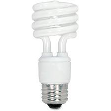 SDN S6235 Satco 13-watt Fluorescent T2 Spiral CFL Bulb SDNS6235