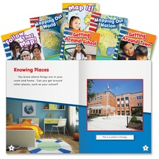 SHL 20598 Shell Education Let's Map It! Six Book Set SHL20598