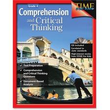 SHL 50244 Shell Education Grade 4 TFK Critical Thinking Book SHL50244