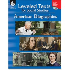 Shell American Bios Leveled Texts Book Education Printed/Electronic Book for Social Studies