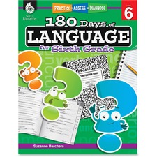 Shell Shell Education 18 Days/Language 6th-grade Book Education Printed Book by Suzanne Barchers - English