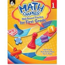 SHL 51288 Shell Education Math Games Skill Based Pract 1 Grd SHL51288