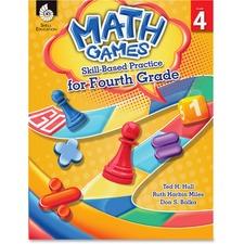 SHL 51291 Shell Education Math Games Skill Based Pract 4 Grd SHL51291