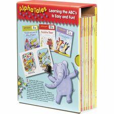 SHS 0545067642 Scholastic Res. Pre-K AlphaTales Book Set SHS0545067642