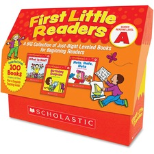 SHS 0545223016 Scholastic Res. Level A 1st Little Readers Books SHS0545223016