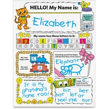Scholastic Res. Pre K-2 Personal Poster Set Education Printed Book by Liza Charlesworth - English