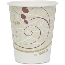 SCC 370SMJ8000 Solo Cup Poly Lined Hot Paper Cups SCC370SMJ8000